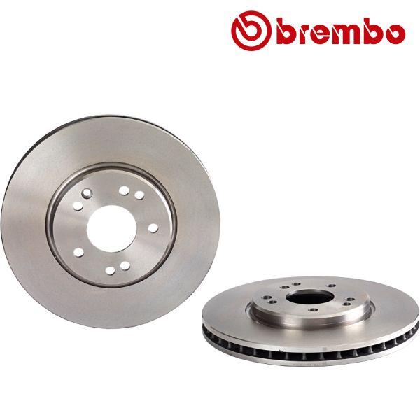 Remschijven voorzijde Brembo premium MERCEDES-BENZ SL (R129) 500