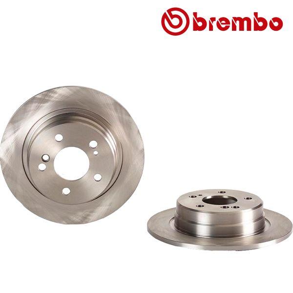 Remschijven achterzijde Brembo premium MERCEDES-BENZ SL (R129) 500 SL