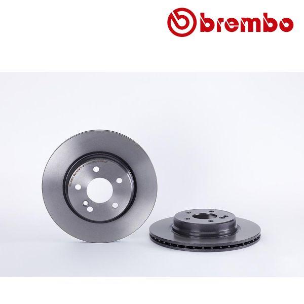 Remschijven achterzijde Brembo premium MERCEDES-BENZ SL (R129) 60 AMG