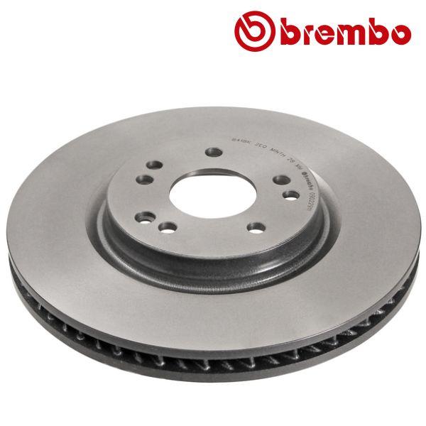 Remschijven voorzijde, rechts Brembo premium MERCEDES-BENZ SL (R129) 600