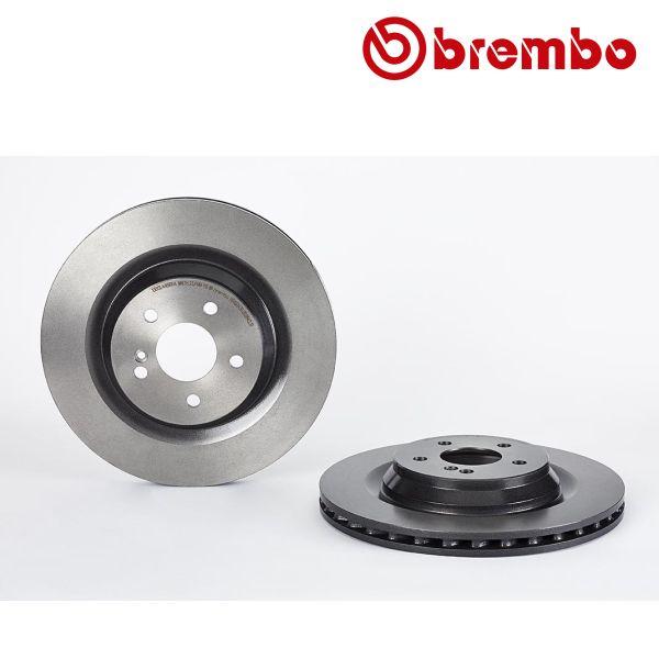 Remschijven achterzijde Brembo premium MERCEDES-BENZ SL (R230) 600