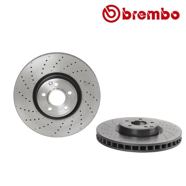 Remschijven voorzijde Brembo premium MERCEDES-BENZ SL (R231) 400