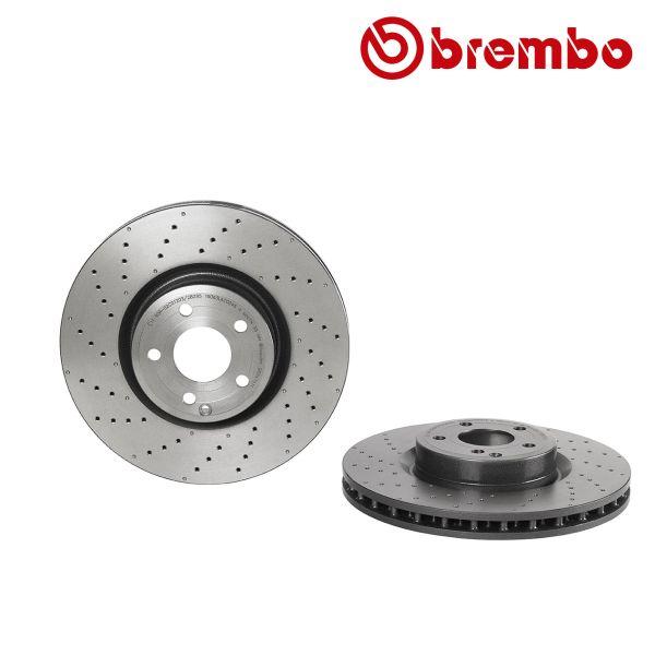 Remschijven voorzijde Brembo premium MERCEDES-BENZ SL (R231) 500