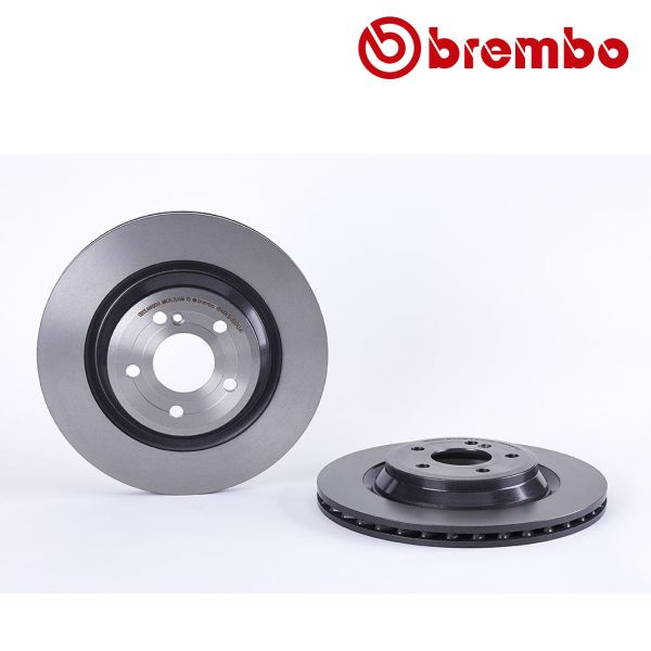 Remschijven achterzijde Brembo premium MERCEDES-BENZ SL (R231) 500