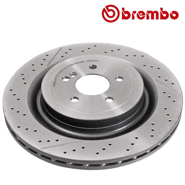 Remschijven achterzijde Brembo premium MERCEDES-BENZ SL (R231) 63 AMG