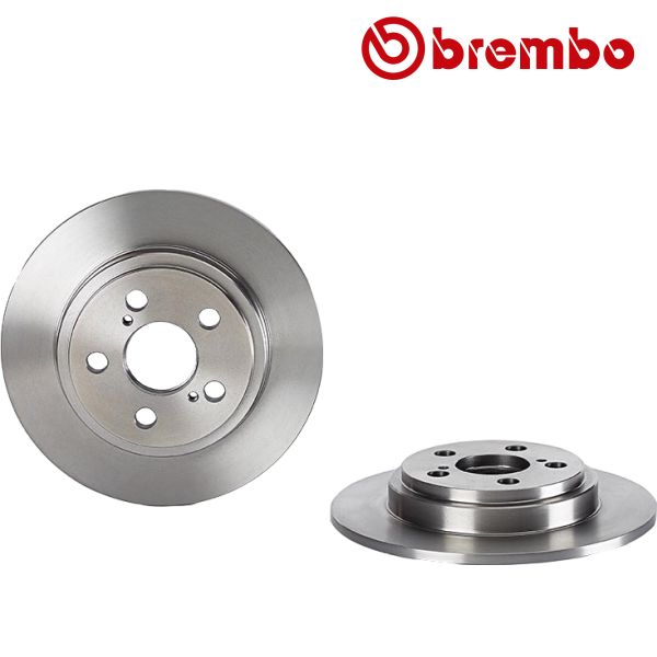 Remschijven achterzijde Brembo premium MERCEDES-BENZ SLC (R172) 300