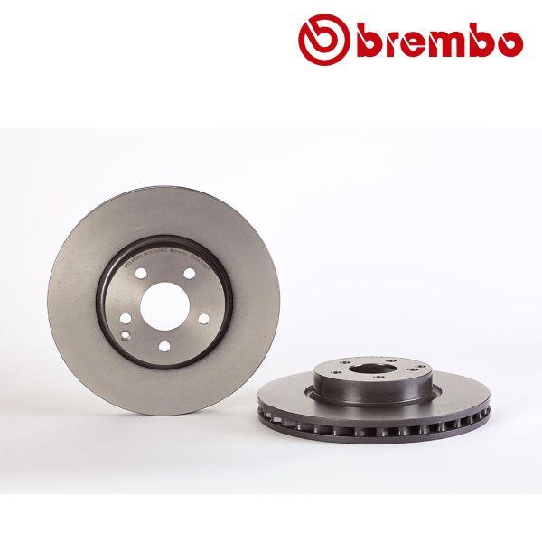 Remschijven voorzijde Brembo premium MERCEDES-BENZ SLC (R172) 300