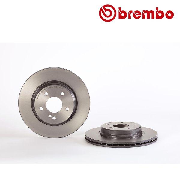 Remschijven achterzijde Brembo premium MERCEDES-BENZ SLK (R170) 32 AMG Kompressor