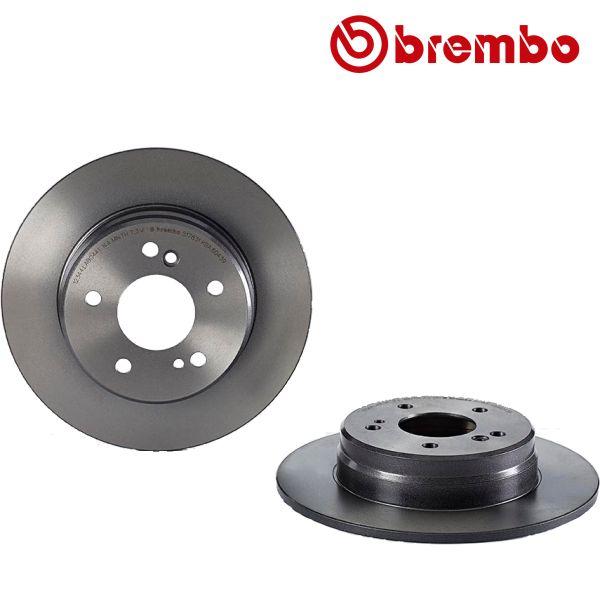 Remschijven achterzijde Brembo premium MERCEDES-BENZ SLK (R171) 200 Kompressor