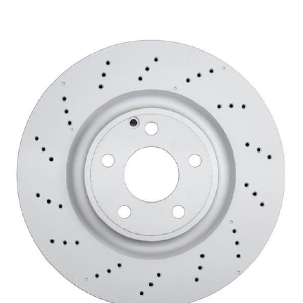 Geperforeerde remschijven voorzijde Sport kwaliteit MERCEDES-BENZ SLK (R172) 350
