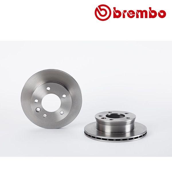 Remschijven voorzijde Brembo premium MERCEDES-BENZ SPRINTER 2-t Open laadbak/ Chassis (901, 902) 214
