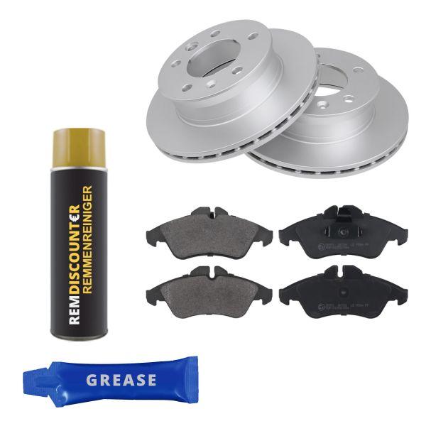 Voordeelpakket remschijven & remblokken voorzijde MERCEDES-BENZ SPRINTER 3-t Open laadbak/ Chassis (903) 310 D 2.9 4x4