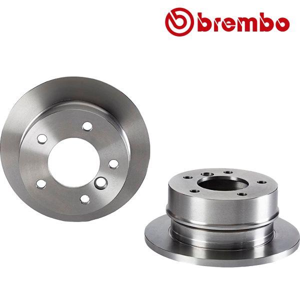 Remschijven achterzijde Brembo premium MERCEDES-BENZ SPRINTER 3-t Open laadbak/ Chassis (903) 313 CDI 4x4