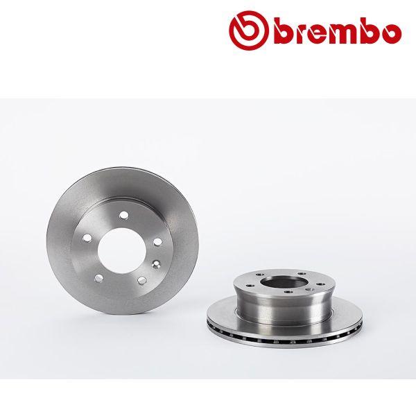 Remschijven voorzijde Brembo premium MERCEDES-BENZ SPRINTER 4-t Bestelwagen (904) 412 D 4x4