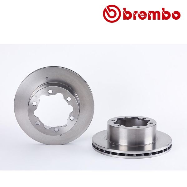 Remschijven achterzijde Brembo premium MERCEDES-BENZ SPRINTER 4,6-t Bestelwagen (906) 424