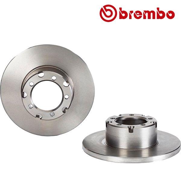 Remschijven voorzijde Brembo premium MERCEDES-BENZ T1 Open laadbak/ Chassis (601) 207 D 2.4