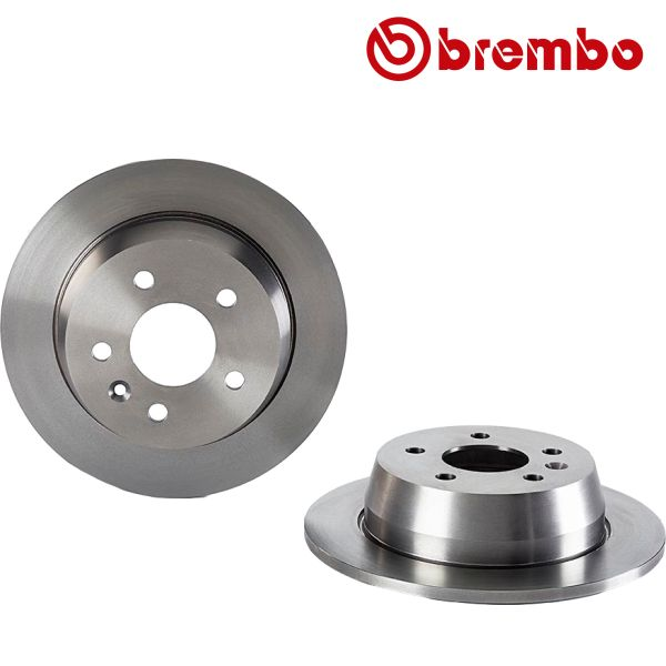 Remschijven achterzijde Brembo premium MERCEDES-BENZ V-KLASSE (638/2) V 200 CDI