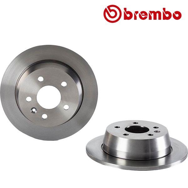 Remschijven achterzijde Brembo premium MERCEDES-BENZ V-KLASSE (638/2) V 230 TD
