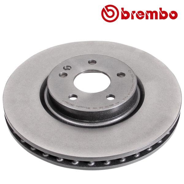 Remschijven voorzijde Brembo premium MERCEDES-BENZ V-KLASSE (W447) V 250 BlueTEC / d