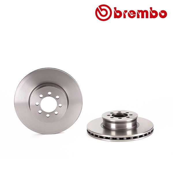 Remschijven voorzijde Brembo premium MERCEDES-BENZ VARIO Bestelwagen 618 D