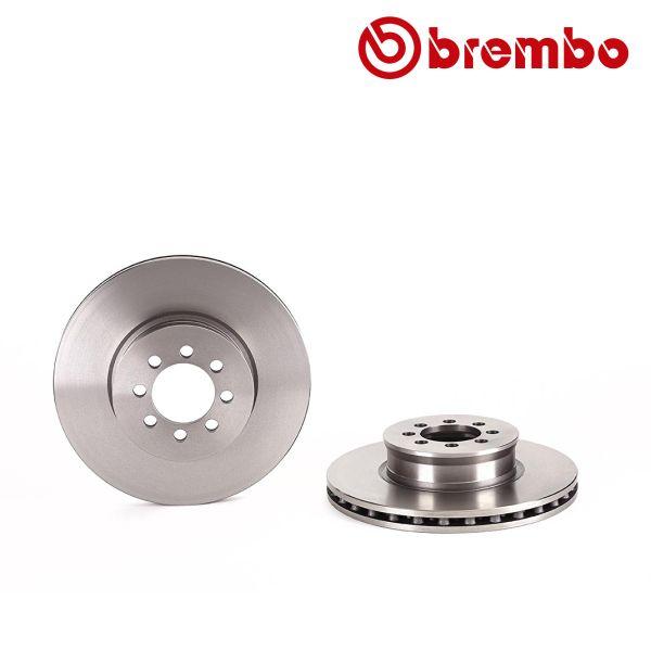 Remschijven voorzijde Brembo premium MERCEDES-BENZ VARIO Kiepauto 615 D, 616 D