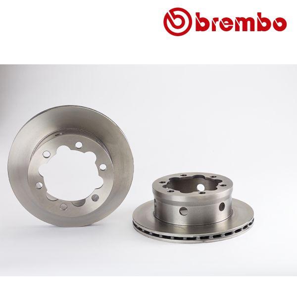 Remschijven achterzijde Brembo premium MERCEDES-BENZ VARIO Open laadbak/ Chassis 512 D