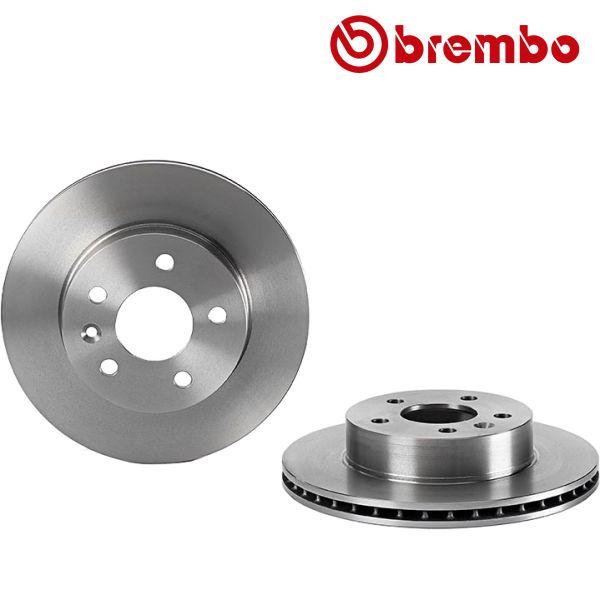 Remschijven voorzijde Brembo premium MERCEDES-BENZ VITO Bestelwagen (638) 108 D 2.3