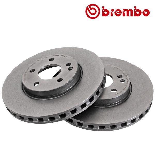 Remschijven voorzijde Brembo premium MERCEDES-BENZ VITO Mixto (Double Cabin) (W447) 111 CDI