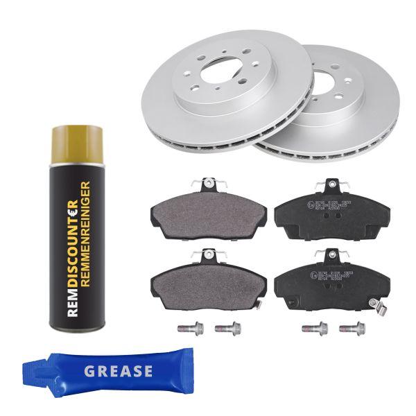 Voordeelpakket remschijven & remblokken voorzijde MG EXPRESS Hatchback/Van 1.4