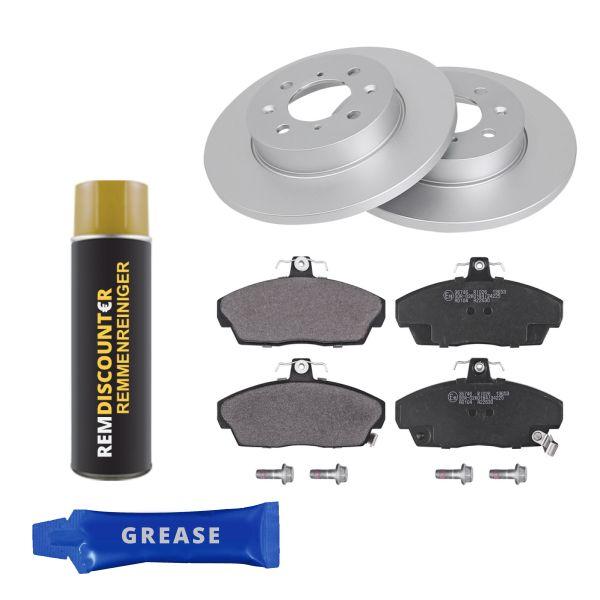 Voordeelpakket remschijven & remblokken voorzijde MG EXPRESS Hatchback/Van 160