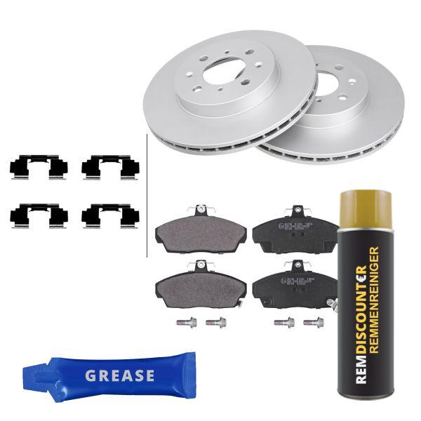 Voordeelpakket remschijven & remblokken voorzijde MG MG ZR 2.0 TD