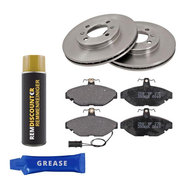 Voordeelpakket remschijven & remblokken voorzijde MG MONTEGO 2.0 Turbo