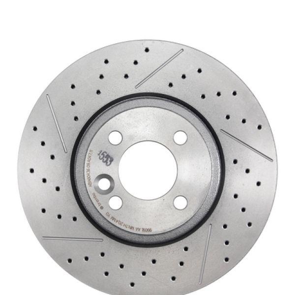 Geperforeerde remschijven voorzijde Sport kwaliteit MINI MINI Cabriolet Cooper SD