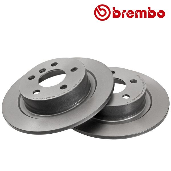 Remschijven achterzijde Brembo premium MINI MINI CLUBMAN Cooper SD ALL4