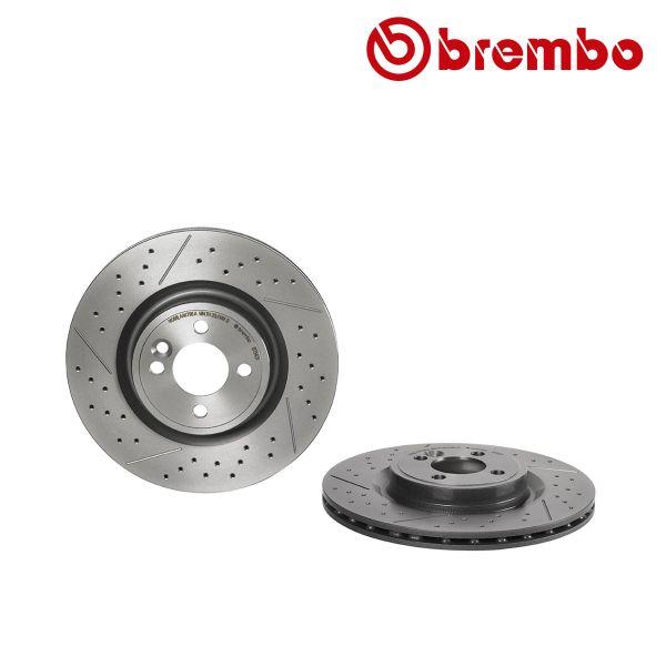 Remschijven voorzijde Brembo premium MINI MINI Coupé Cooper