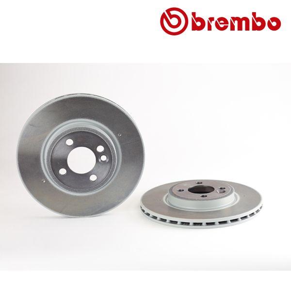 Remschijven voorzijde Brembo premium MINI MINI Coupé Cooper S