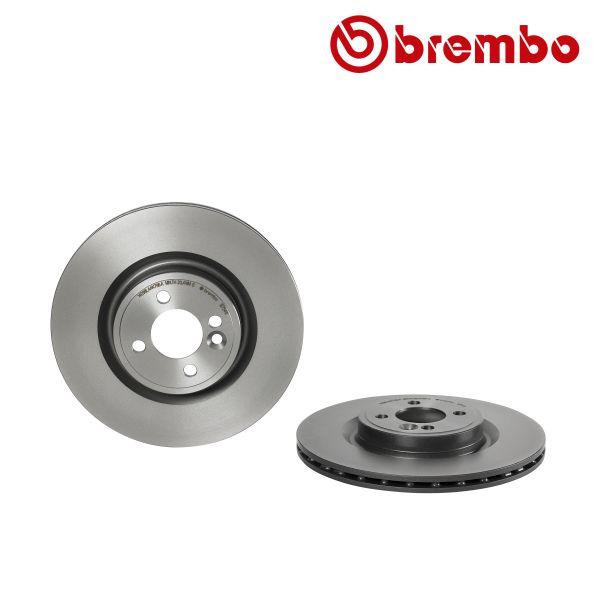 Remschijven voorzijde Brembo premium MINI MINI Coupé Cooper S JCW
