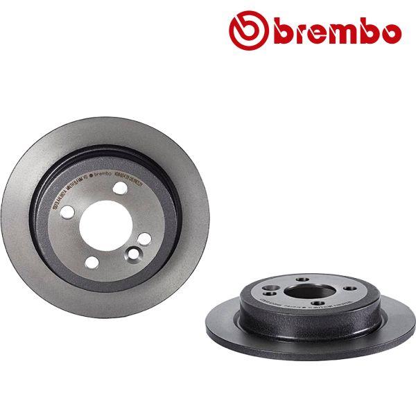 Remschijven achterzijde Brembo premium MINI MINI Coupé Cooper SD