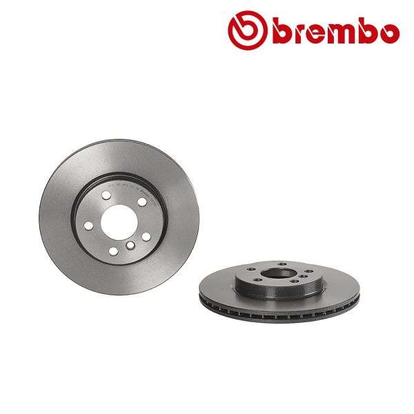 Remschijven voorzijde Brembo premium MINI MINI Cooper S