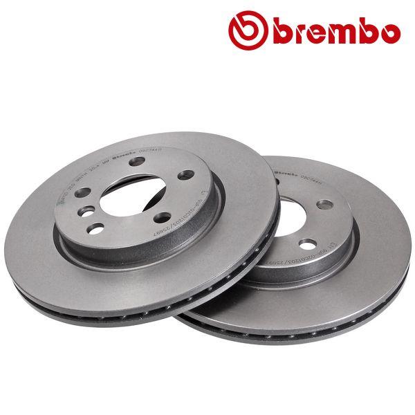 Remschijven voorzijde Brembo premium MINI MINI One First