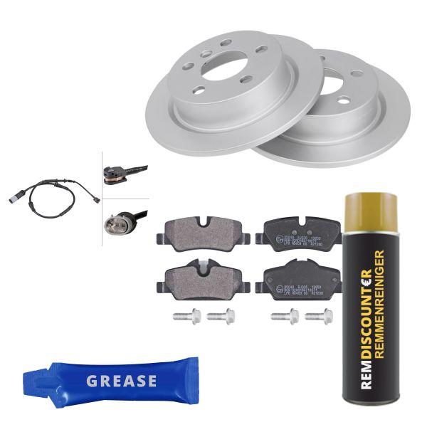 Voordeelpakket remschijven & remblokken achterzijde MINI MINI Cooper SD