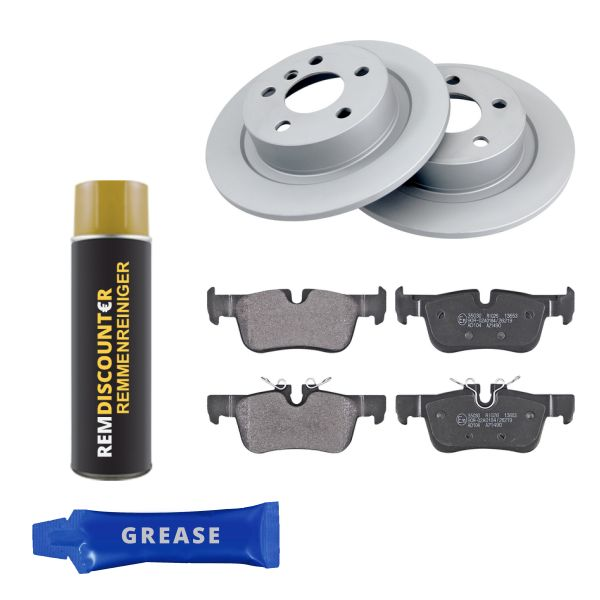 Voordeelpakket remschijven & remblokken achterzijde MINI MINI Cooper SE / Electric