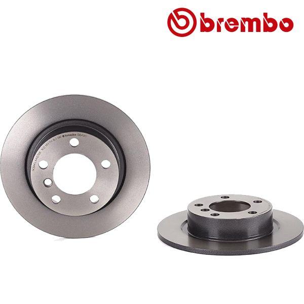 Remschijven achterzijde Brembo premium MINI MINI PACEMAN Cooper S