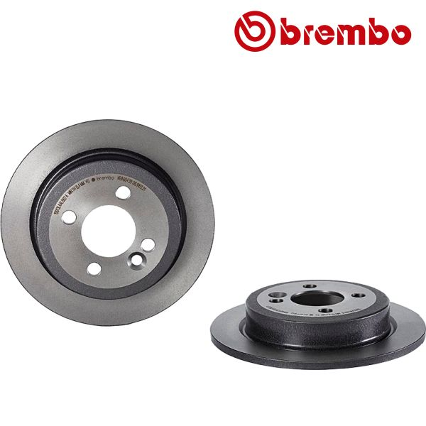 Remschijven achterzijde Brembo premium MINI MINI Cooper