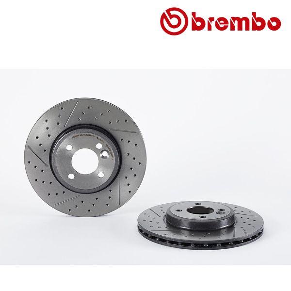 Remschijven voorzijde Brembo premium MINI MINI S Works