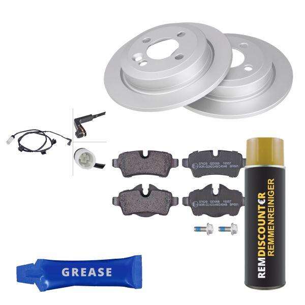 Voordeelpakket remschijven & remblokken achterzijde MINI MINI Roadster Cooper SD