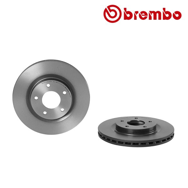 Remschijven voorzijde Brembo premium MITSUBISHI ASX 1.8