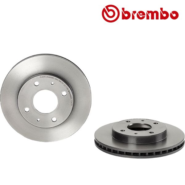 Remschijven voorzijde Brembo premium MITSUBISHI CARISMA 1.8 16V GDI