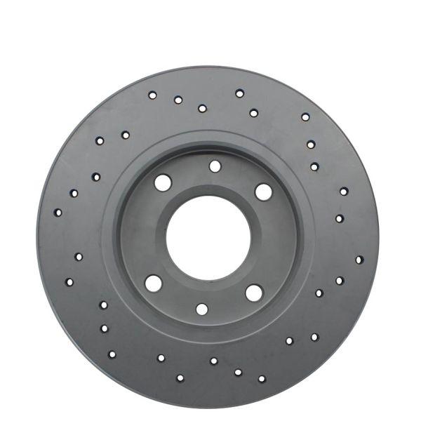 Geperforeerde remschijven achterzijde Sport kwaliteit MITSUBISHI COLT VI 1.3 Flexfuel
