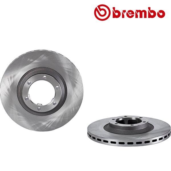 Remschijven voorzijde Brembo premium MITSUBISHI GALLOPER 3.0 V6
